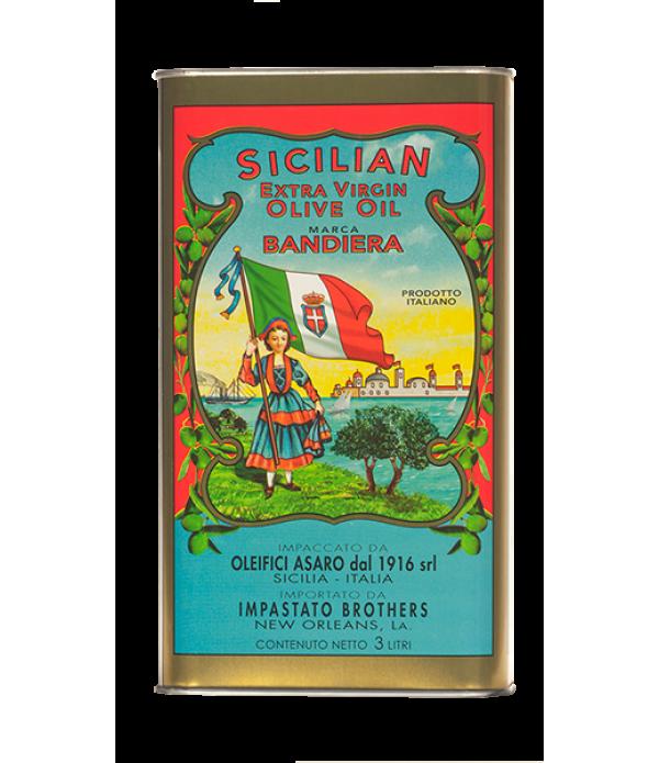 Sal & Judy's Flag Extra Virgin Olive Oil 3L Ti...